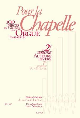 Pour la Chapelle Volume 2 Partition Orgue - laflutedepan