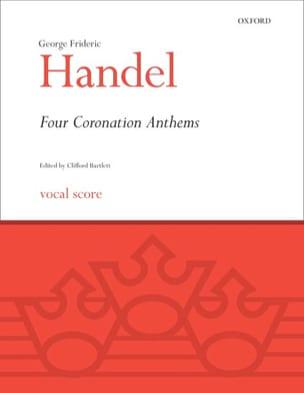 HAENDEL - 4 Coronation Anthems - Partition - di-arezzo.fr