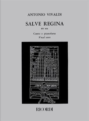 Salve Regina RV 616 VIVALDI Partition Mélodies - laflutedepan