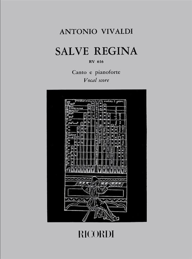 Salve Regina RV 616 - VIVALDI - Partition - laflutedepan.com