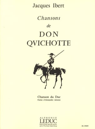 Chanson Du Duc IBERT Partition Mélodies - laflutedepan