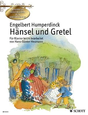 Hänsel und Gretel Engelbert Humperdinck Partition Piano - laflutedepan