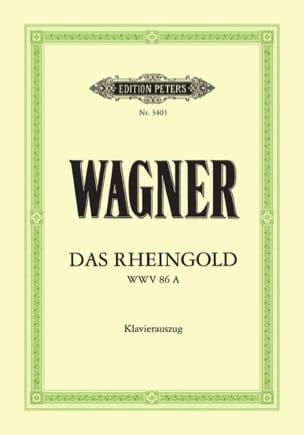 Das Rheingold. Wwv 86a WAGNER Partition Opéras - laflutedepan