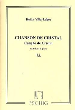 Cançao de Cristal VILLA-LOBOS Partition Mélodies - laflutedepan
