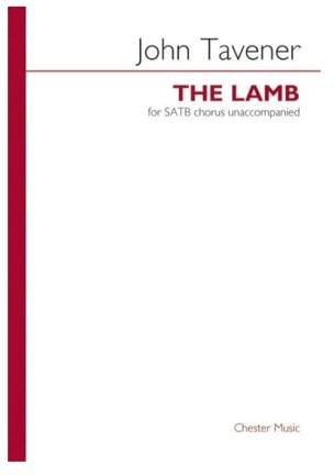 The Lamb John Tavener Partition Chœur - laflutedepan