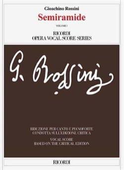 Semiramide. Edition Critique (2 volumes) ROSSINI laflutedepan