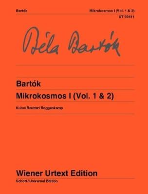 Mikrokosmos. Volume 1 BARTOK Partition Piano - laflutedepan