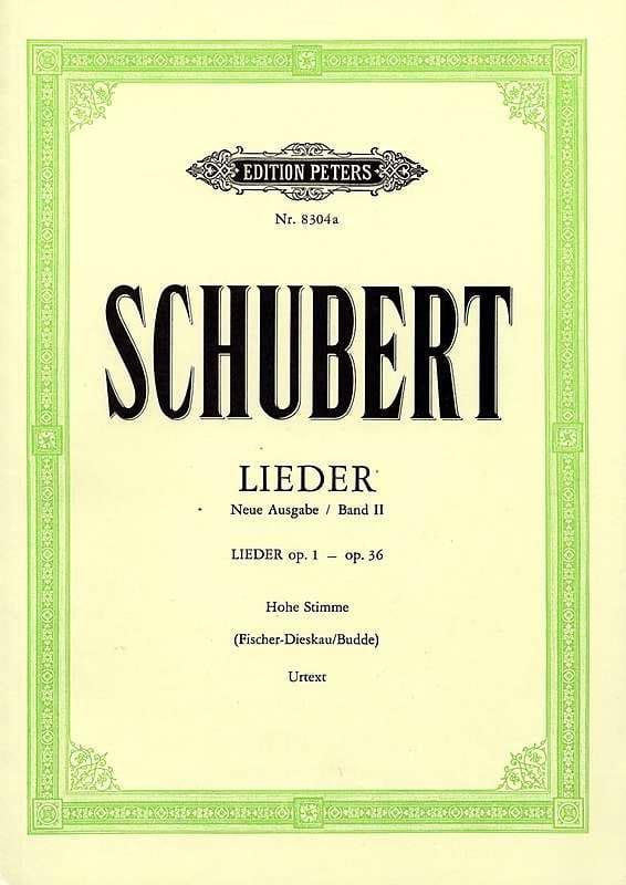 Lieder Volume 2 - Voix Moyenne - Fischer-Dieskau - laflutedepan.com