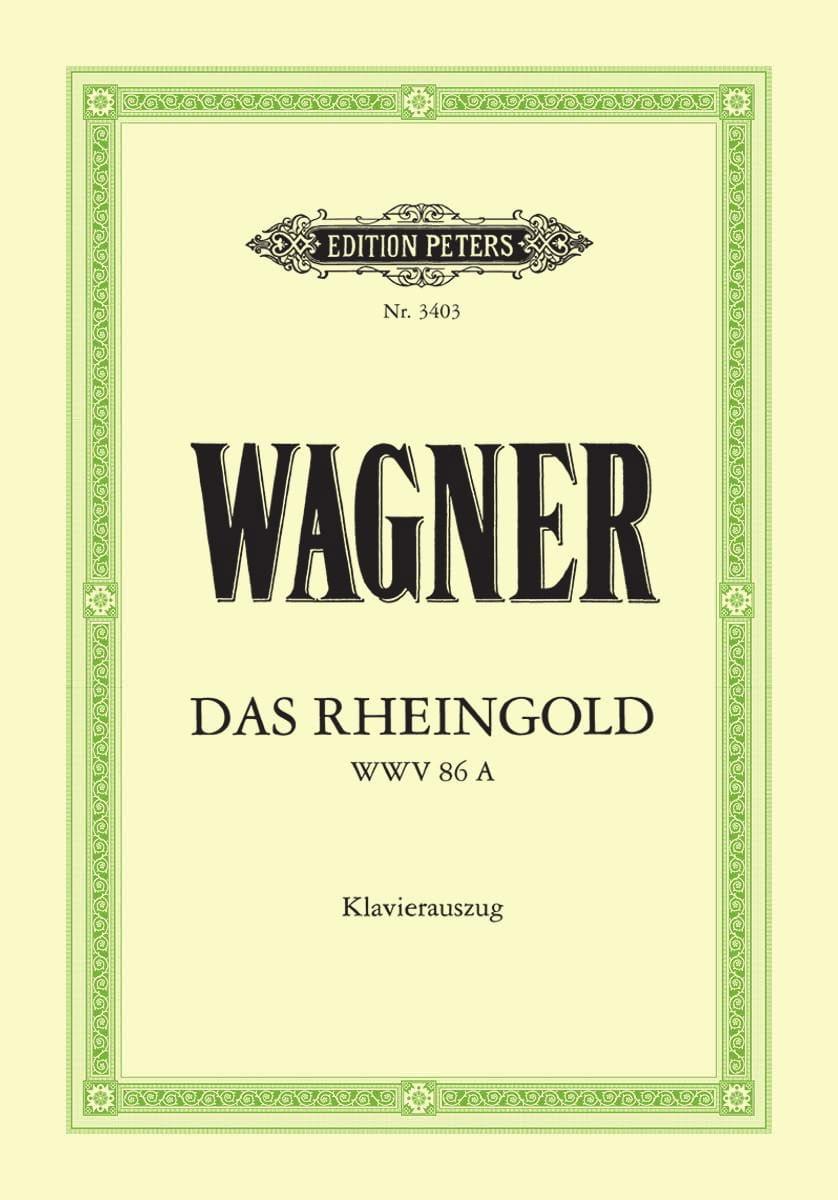 Das Rheingold. Wwv 86a - WAGNER - Partition - laflutedepan.com