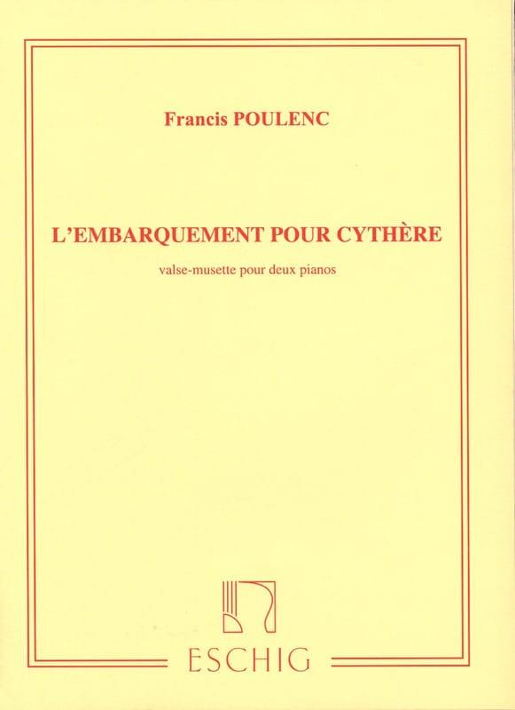 Embarquement Pour Cythère. 2 Pianos - POULENC - laflutedepan.com