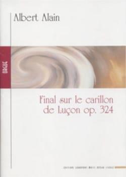 Final sur le Carillon de Luçon Op. 324 Albert Alain laflutedepan