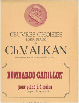 Bombardo-Carillon En Si Bémol op. 47. 4 Pieds ALKAN laflutedepan