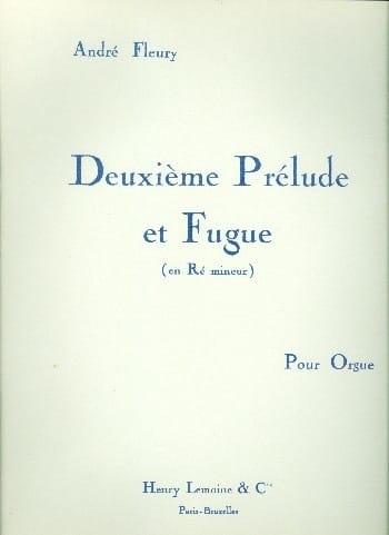 Prélude et Fugue N°2 - André Fleury - Partition - laflutedepan.com