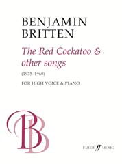 The Red Cockatoo And Other Songs - BRITTEN - laflutedepan.com