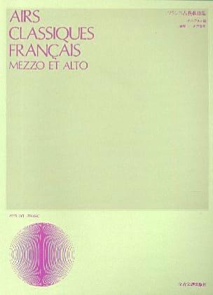 Airs Classiques Français. Mezzo Partition Opéras - laflutedepan
