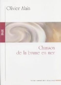 Chanson de la Brume En Mer Olivier Alain Partition laflutedepan