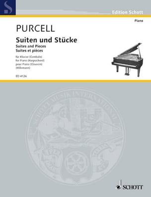 Stücke für Klavier PURCELL Partition Clavecin - laflutedepan