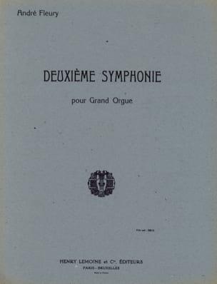 Symphonie N°2 André Fleury Partition Orgue - laflutedepan