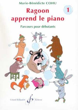 Ragoon Apprend le Piano Volume 1 Marie-Bénédicte Cohu laflutedepan