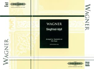 Siegfried-Idyll. 4 Mains WAGNER Partition Piano - laflutedepan