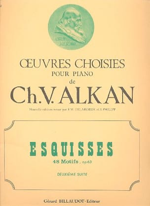 Esquisses Opus 63 Volume 2 ALKAN Partition Piano - laflutedepan