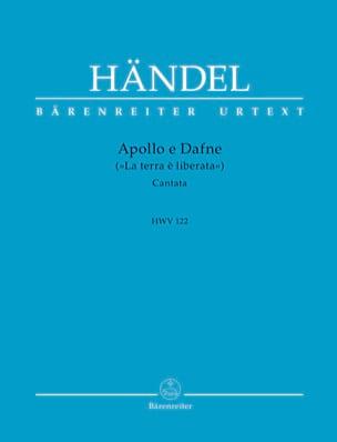 Apollo e Dafne Hwv 122 Georg-Friedrich Haendel Partition laflutedepan