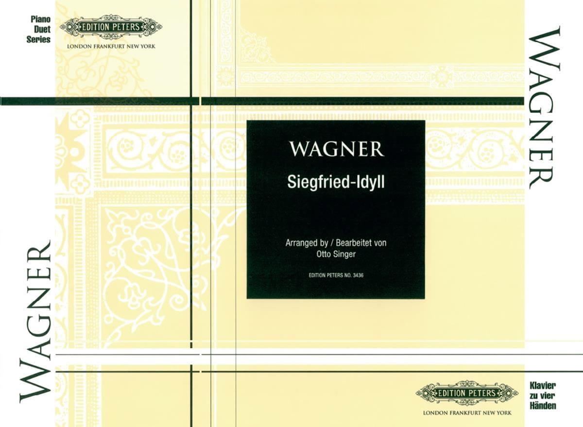 Siegfried-Idyll. 4 Mains - WAGNER - Partition - laflutedepan.com