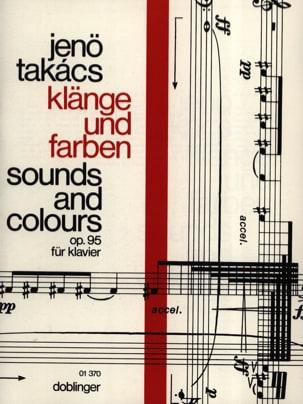 Klänge Und Farben Opus 95 Jenö von Takacs Partition laflutedepan