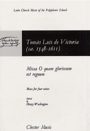 Missa O Quam Gloriosum Est Regnum Tomas Luis de Victoria laflutedepan