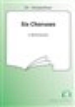 6 Choruses Opus 15. SA Choeur Seul - RACHMANINOV - laflutedepan.com
