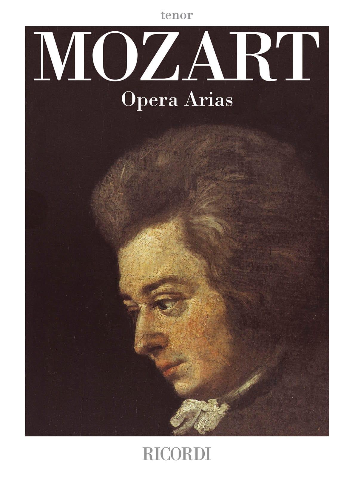 Opera Arias. Ténor - MOZART - Partition - Opéras - laflutedepan.com