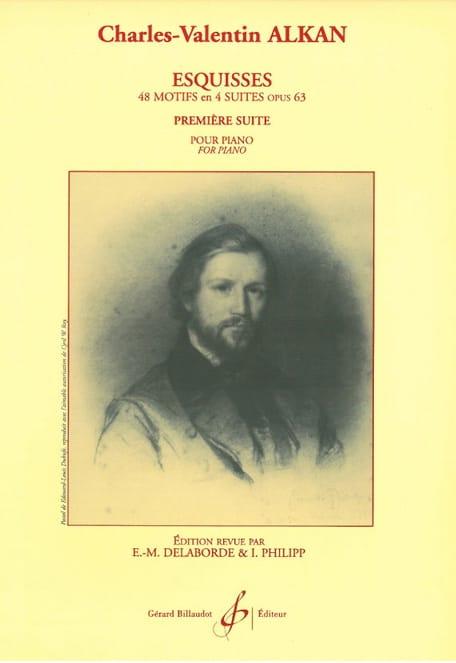 Esquisses Opus 63 Volume 1 - ALKAN - Partition - laflutedepan.com
