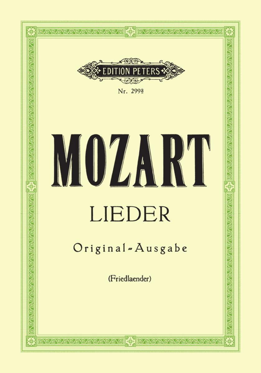 29 Lieder. Voix Haute - MOZART - Partition - laflutedepan.com