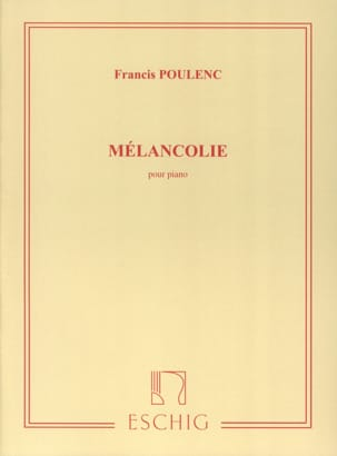 Francis Poulenc - malinconia - Partition - di-arezzo.it