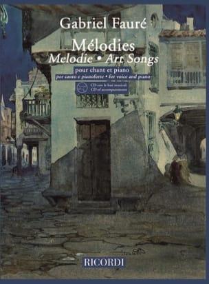 20 Mélodies. Voix Haute FAURÉ Partition Mélodies - laflutedepan