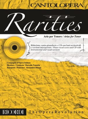 Rarities. Arie per tenor Partition Recueils - laflutedepan