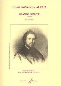 Grande Sonate Opus 33 ALKAN Partition Piano - laflutedepan