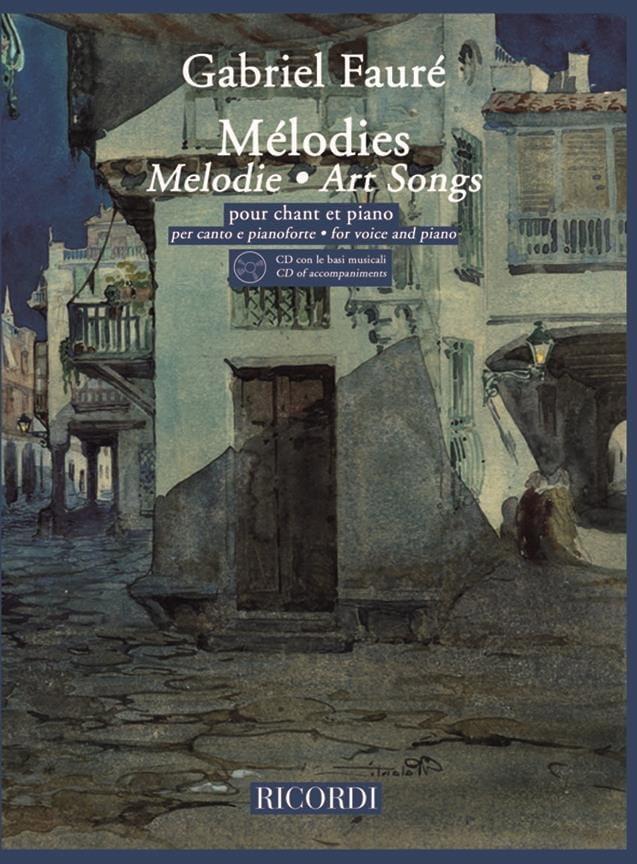 20 Mélodies. Voix Haute - FAURÉ - Partition - laflutedepan.com