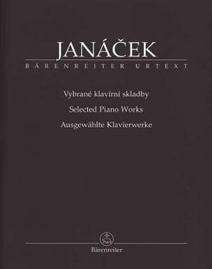 Ausgewahlte Klavierwerke JANACEK Partition Piano - laflutedepan