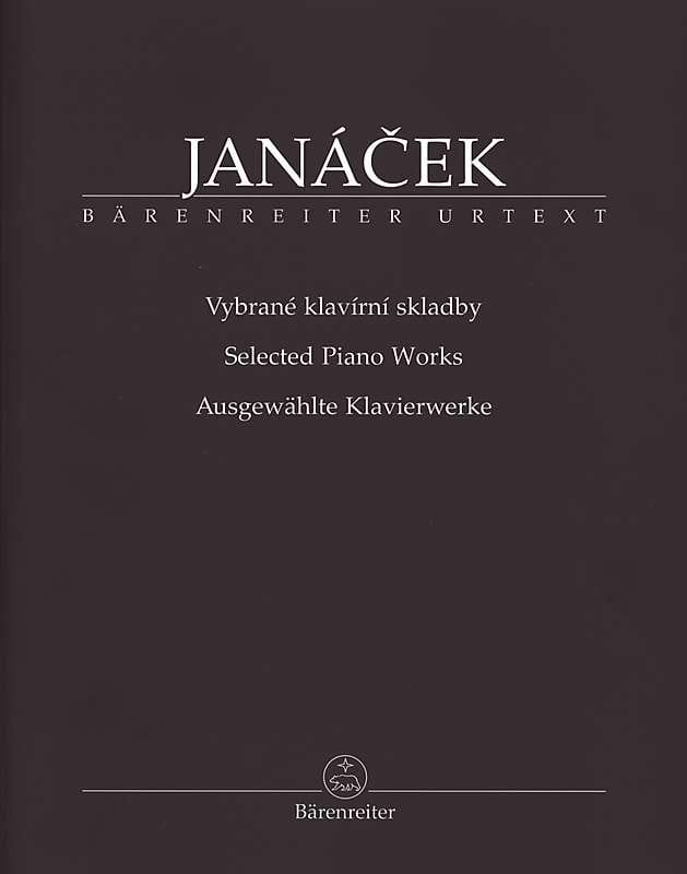 Ausgewahlte Klavierwerke - JANACEK - Partition - laflutedepan.com