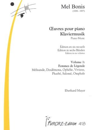 Oeuvres Pour Piano - Volume 1 Mel Bonis Partition Piano - laflutedepan
