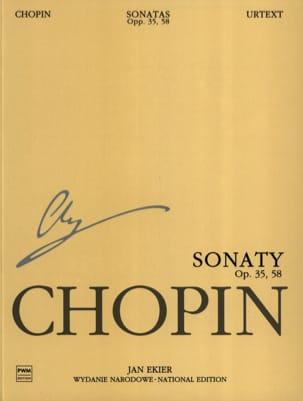 Sonates Opus 35, 58 CHOPIN Partition Piano - laflutedepan