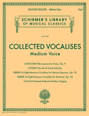 Collected Vocalises. Voix moyenne Partition Pédagogie - laflutedepan