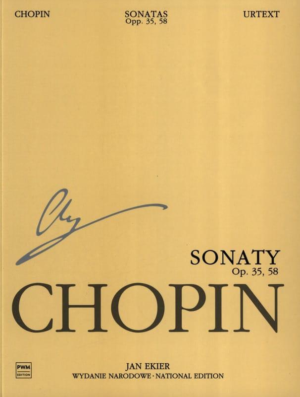 Sonates Opus 35, 58 - CHOPIN - Partition - Piano - laflutedepan.com