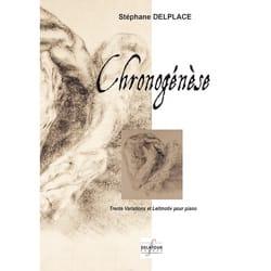 Chronogénèse Stéphane Delplace Partition Piano - laflutedepan