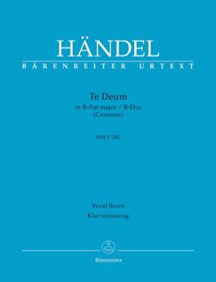 Te Deum Si bémol majeur HWV 281 - HAENDEL - laflutedepan.com