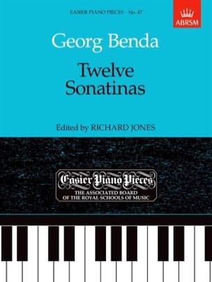 12 Sonatines. Georg Benda Partition Piano - laflutedepan