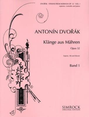 Klänge Aus Mähren Opus 32 Volume 1 DVORAK Partition laflutedepan