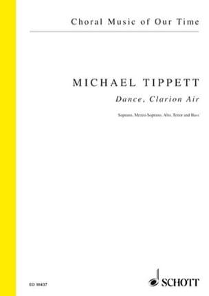 Dance, Clarion Air Michael Tippett Partition Chœur - laflutedepan