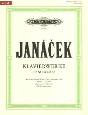 Oeuvres Pour Piano JANACEK Partition Piano - laflutedepan
